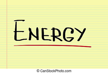 energie, concept