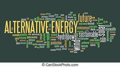 energie, duurzaam, alternatief