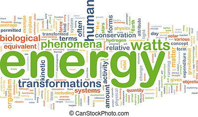 energie, fyzika, grafické pozadí, pojem