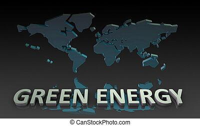 energie, groene