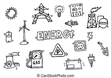 energie, heiligenbilder, satz