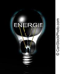 Energie light bulb