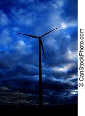 energie, mühle, wind