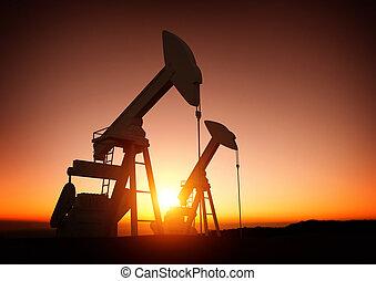 energie, olie industrie
