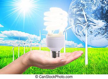 energie, schoonmaken