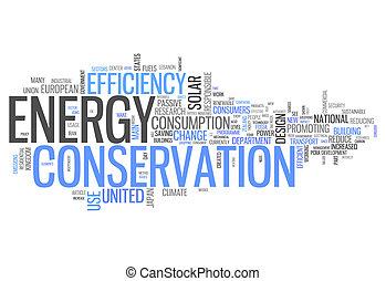 energieerhaltung, wort, wolke