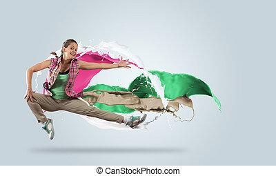 energisch, tänzer