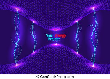 Energy Abstract background