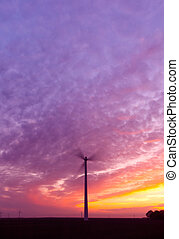 Energy and Sunset
