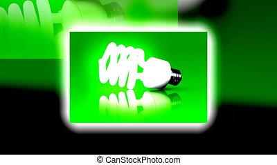 energy bulb animation