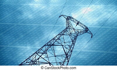 Energy concept timelapse
