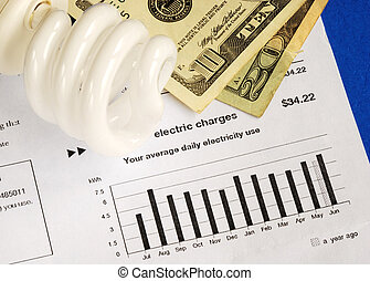 Energy conservation - Save money by using energy savings...