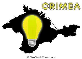 Energy crisis in the Crimea