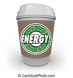 Energy Drink Coffee Caffeine Cup Beverage Power Strength