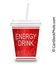 Energy drink concept.