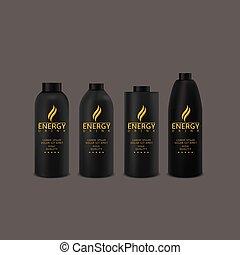 Energy drink set