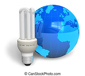 Energy efficiency concept  - Energy efficiency concept