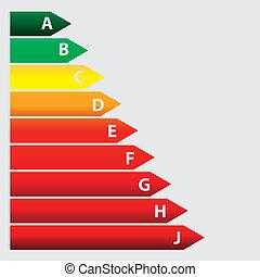 Energy efficiency concept. vector