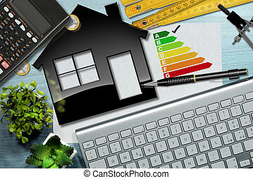 Energy Efficiency Rating with House Model