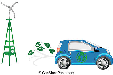 Energy efficient car, gone green