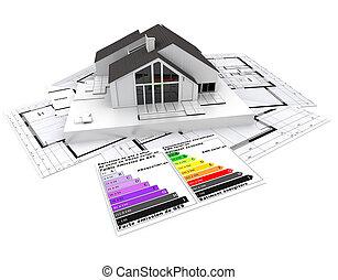 Energy efficient construction project
