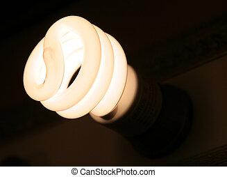 Energy Efficient Light - An energy efficient halogen light...