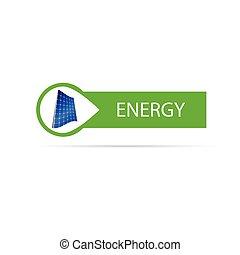 energy icon color vector