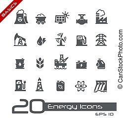 Energy Icons // Basics