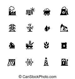 Energy Icons // Black Series