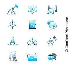 Energy icons    MARINE series