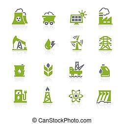 Energy Icons // Natura Series