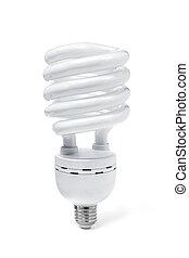 Energy Lamp on white background