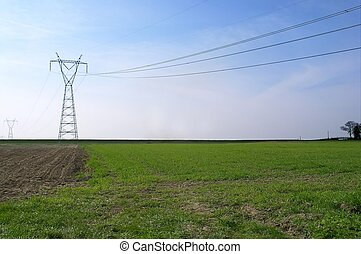 energy - power line