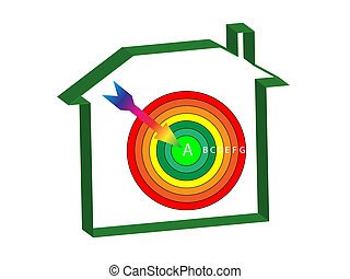 energy ratings house target - energy ratings house with a...