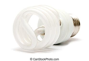 energy saver flourescent light bulb
