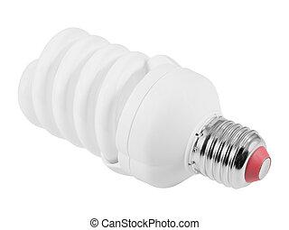 Energy saving fluorescent light bulb (CFL)
