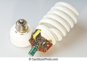 energy saving lamp construction