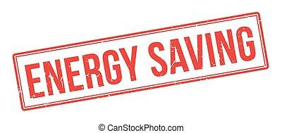 Energy Saving rubber stamp