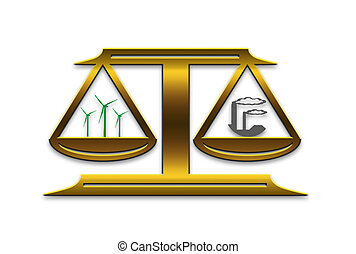Energy scale - comparison between two types of energy...