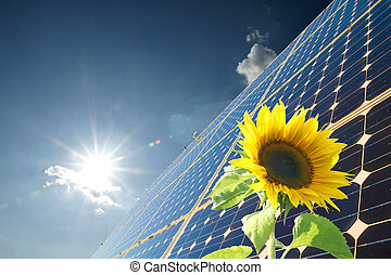 Solar energy for clean environment