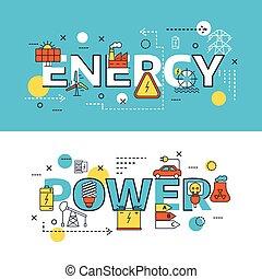 Energy Sources Banner Set