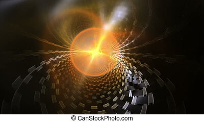 Energy Sphere Emitting Plasma Cloud - radiate energy sphere...