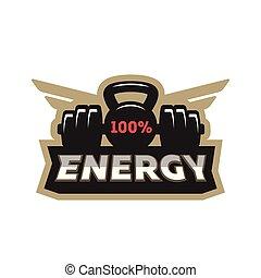 Energy sport logo.