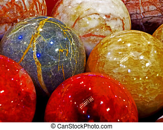 Energy stones polished in round shape 2