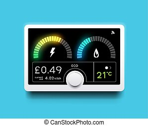 Energy Tracking Home Smart Meter
