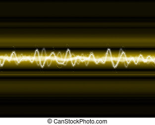 A sound wave or energy wave background