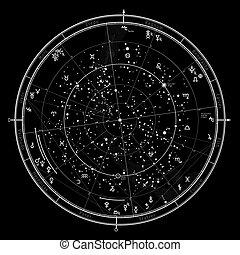 enero, 2017., 1, astrológico, horóscopo
