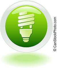 Enery Savings Icon - Energy Savings web button/icon