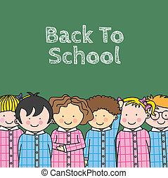enfants, école