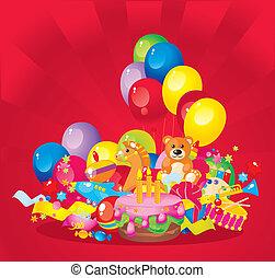 enfants, anniversaire